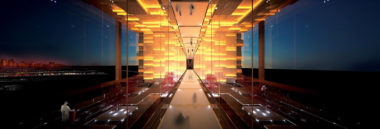 4 hotel atlantic atrium corridor