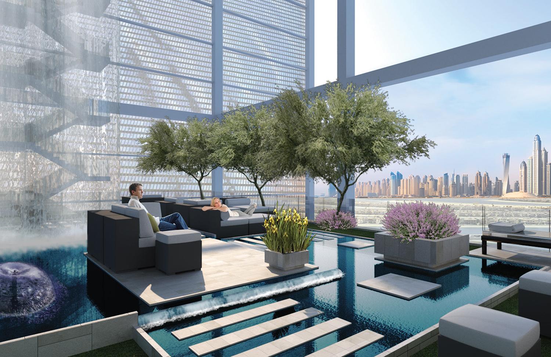 6 hotel atlantic residential atrium