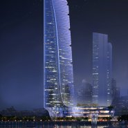 Tower night view