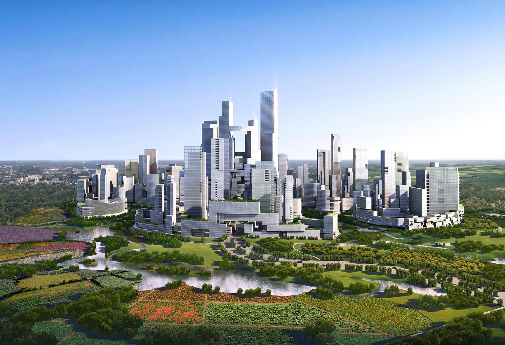 Tianfu Ecological City overall