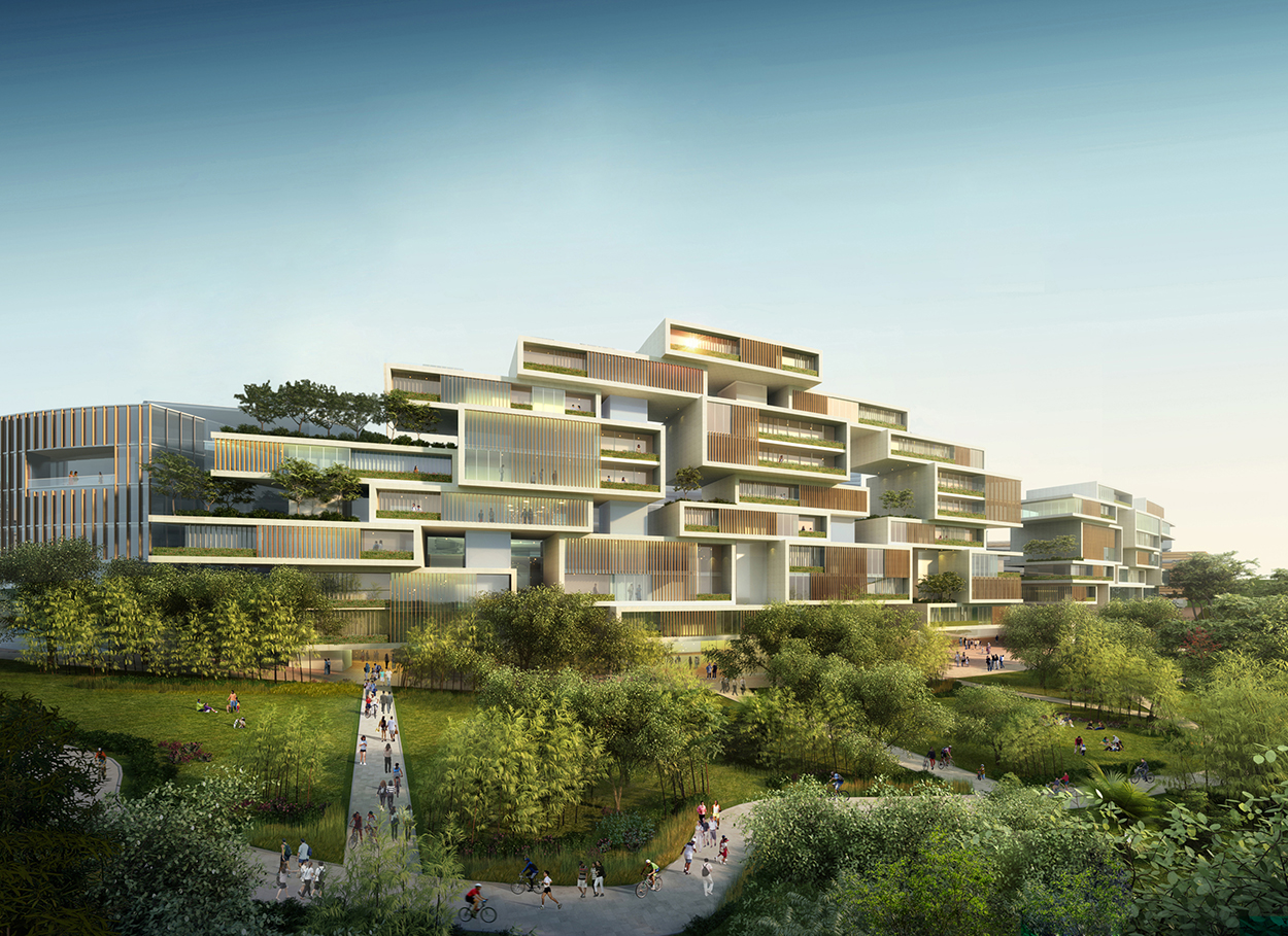 Tianfu Ecological City perimeter