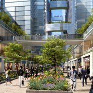 Tianfu Ecological City streetscape