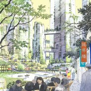 Tianfu Ecological City streetscape sketch 3